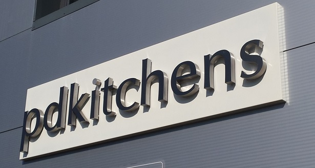 PD Kitchens outside sign in Southwater