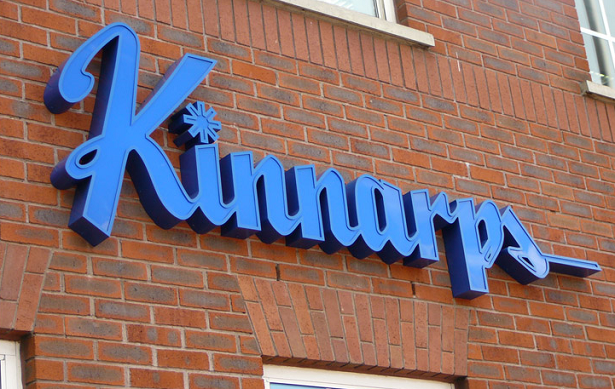 Kinnarps sign