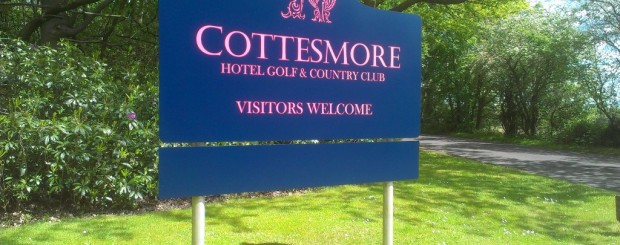 Cottesmore Outdoor Sign
