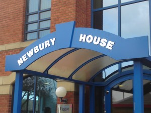 Newbury House Sign