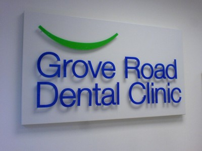 grove dental sign