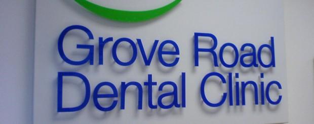 grove dental sign