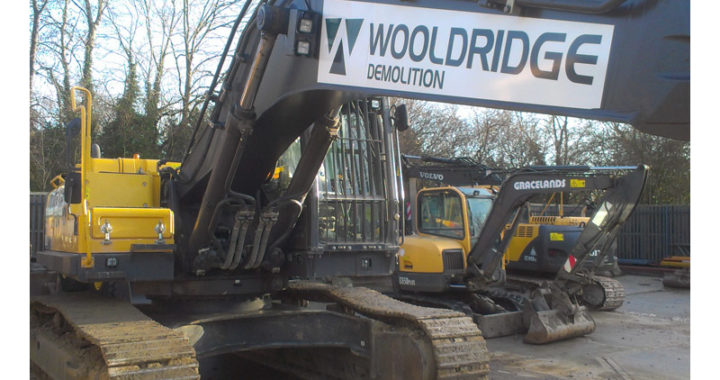 Plant digger with vehicle graphics