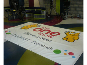 The One Show branded banner