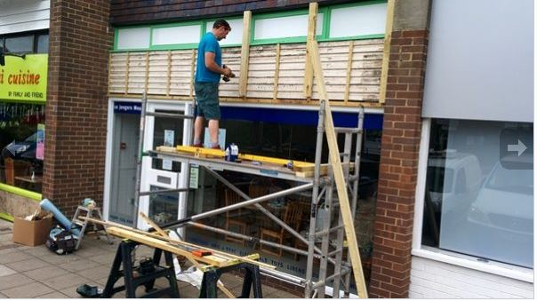 Work begins on Horsham Matters shop in Billingshurst