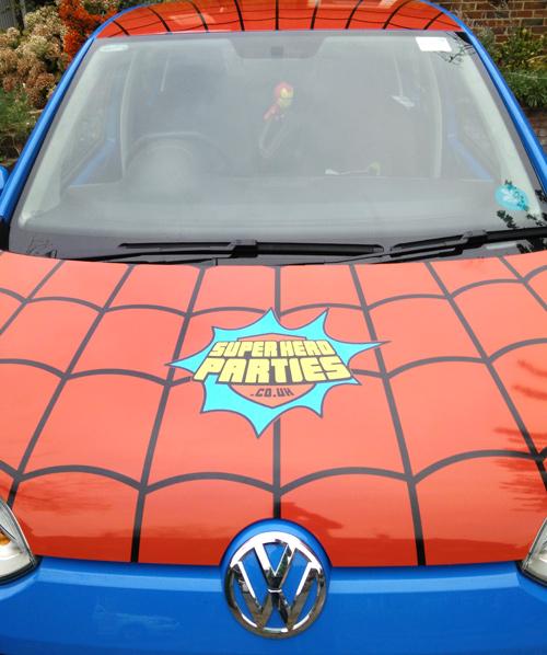 superhero vehicle graphics