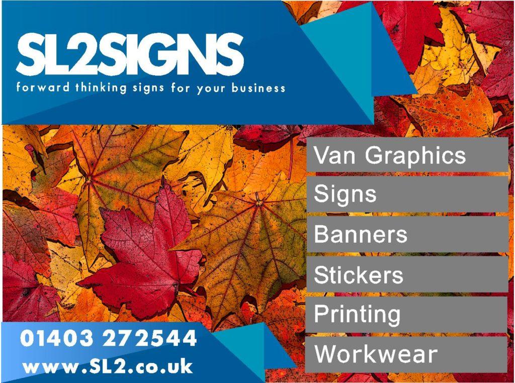 SL2 Autumn Flyer