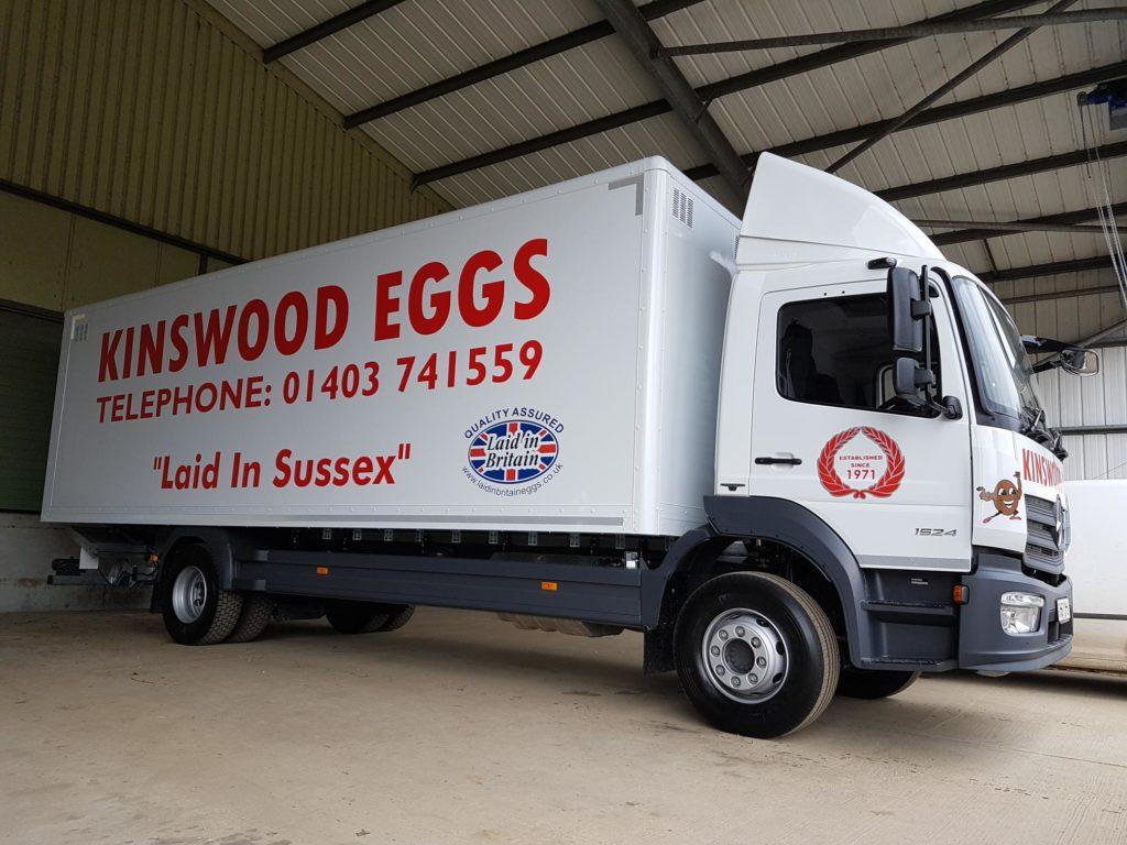 vehicle signage - lorry