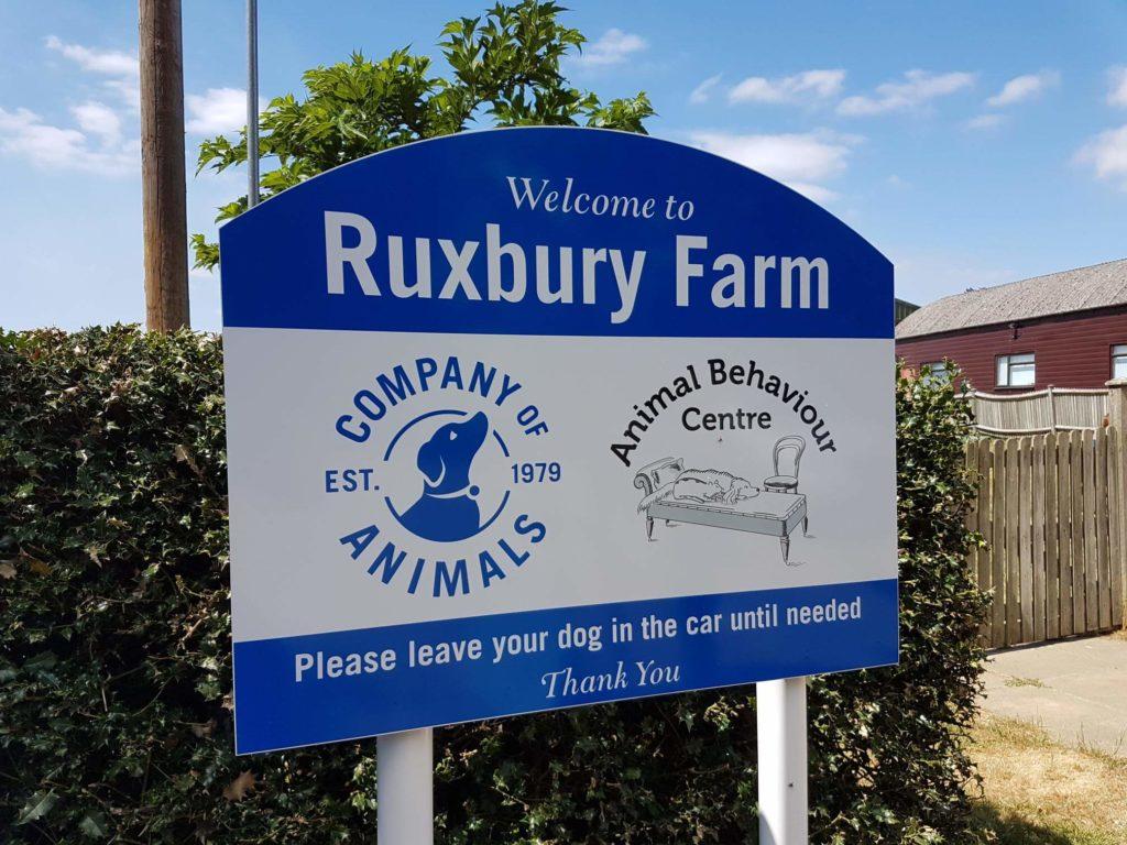 Ruxbury Farm Sign