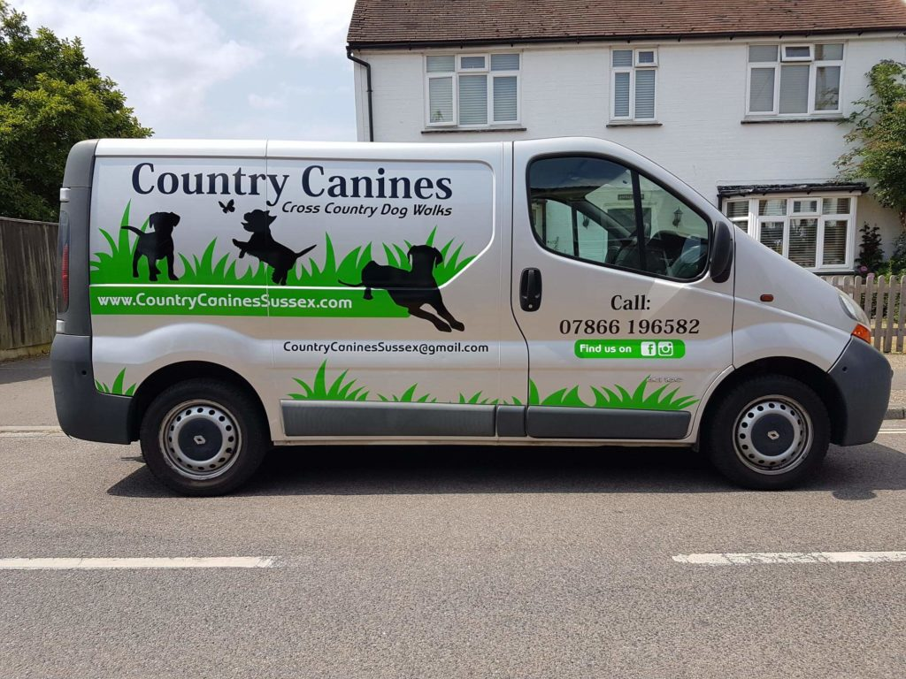 Country Canines Van