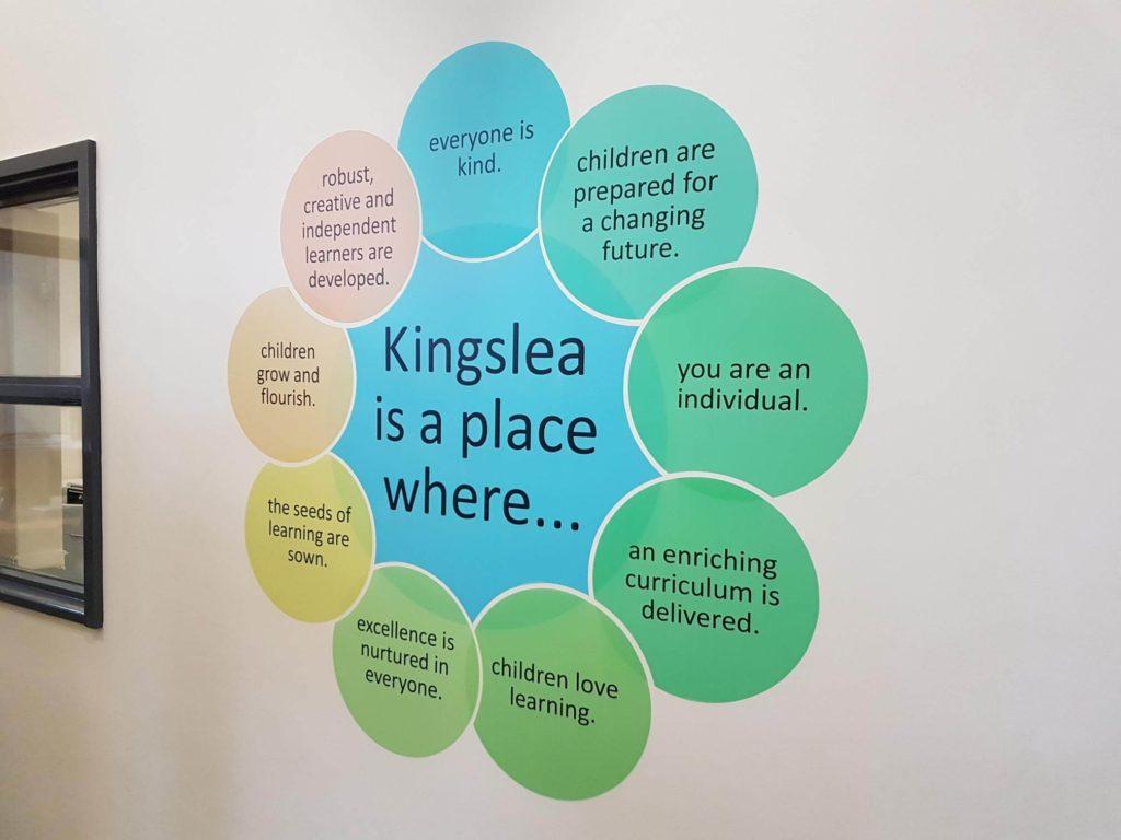 Kingslea Wall Graphics