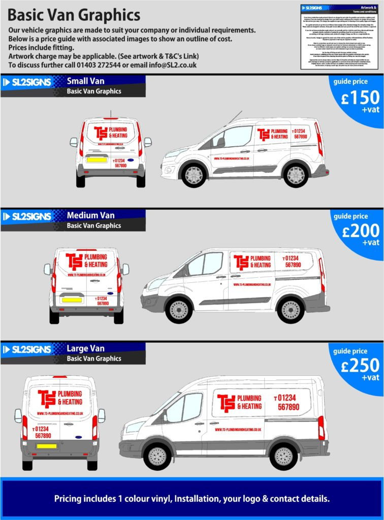 Basic van prices (1)