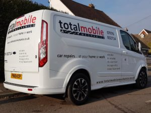Total mobile vehicle graphic