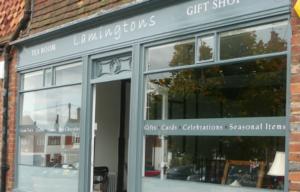 lamingtons window graphic