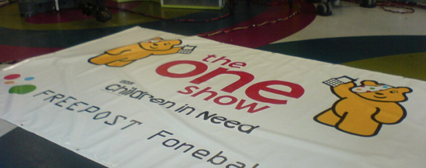 the one show banner