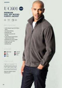 Fleece jacket workwear