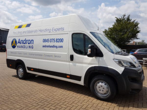 Andron vehicle graphic