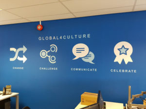 Global4culture wall graphics