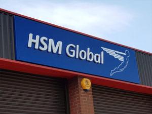 HSM Global external sign