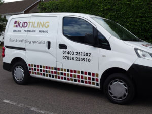 Vehicle graphics for KJD Tiling