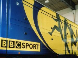 BBC Sport vehicle graphics