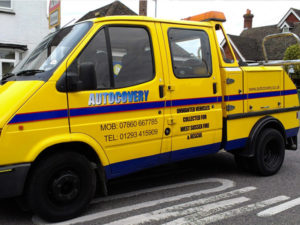 Autocovery vehicle graphics