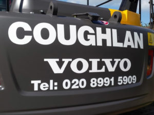 Coughlan volvo vehicle graphics