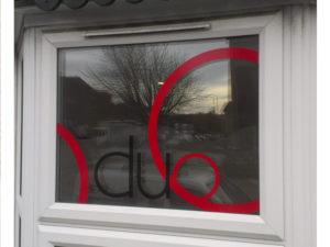 Duo window graphics