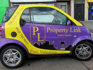 Property Link vehicle graphics