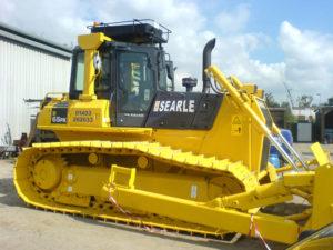 Searle bulldozer vehicle graphics