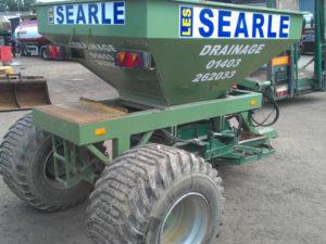 Searle drainage vehicle graphics