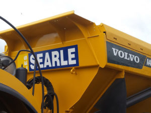 Searle volvo vehicle graphics