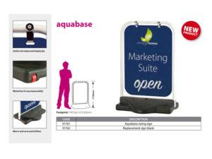 Aquabase signage