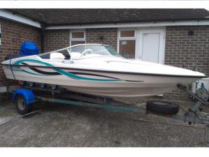 Speedboat vehicle graphics