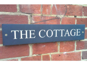 The Cottage external sign