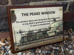 The Peake Window external sign