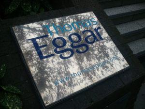 Thomas Eggar sign