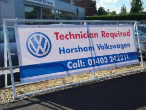 Volkswagen banner graphic