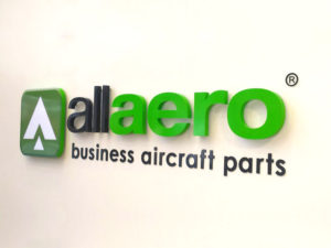 allaero indoor sign