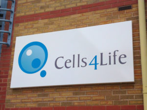 Cells4life outdoor sign