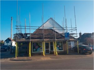 Building Works at SL2 Signs